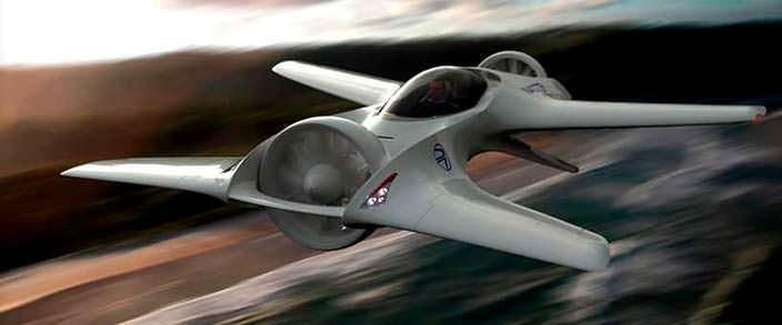 Летающий электромобиль Delorean Aerospace DR-7