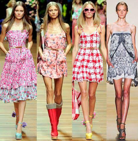 Модные летние платья 2017 года