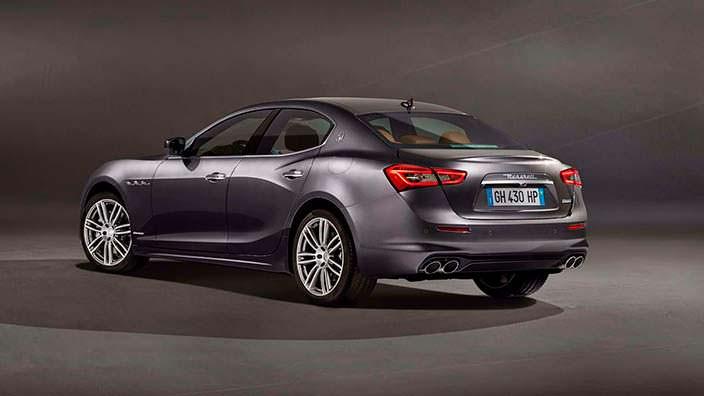 Бизнес-седан Maserati Ghibli GranLusso 2018 рестайлинг