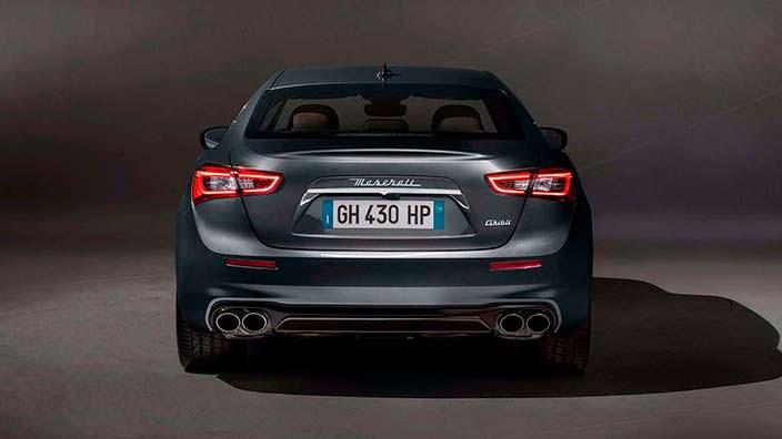 2018 Maserati Ghibli GranLusso рестайлинг