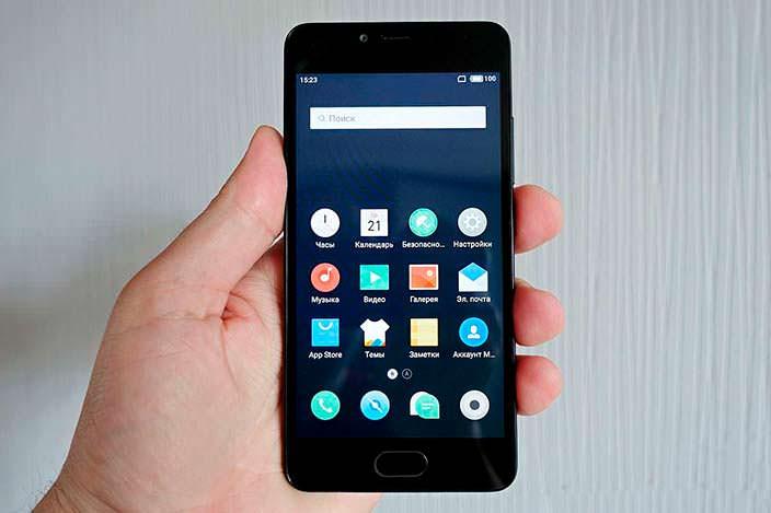 Бюджетный смартфон Meizu M5c