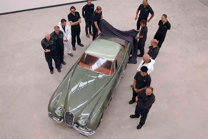 Элегантное купе Jaguar XK120 от Pininfarina 1954 года