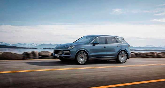 Внедорожник Porsche Cayenne третьего поколения