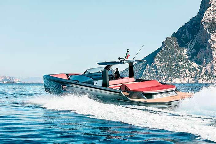Прогулочный катер Maori Yacht 54