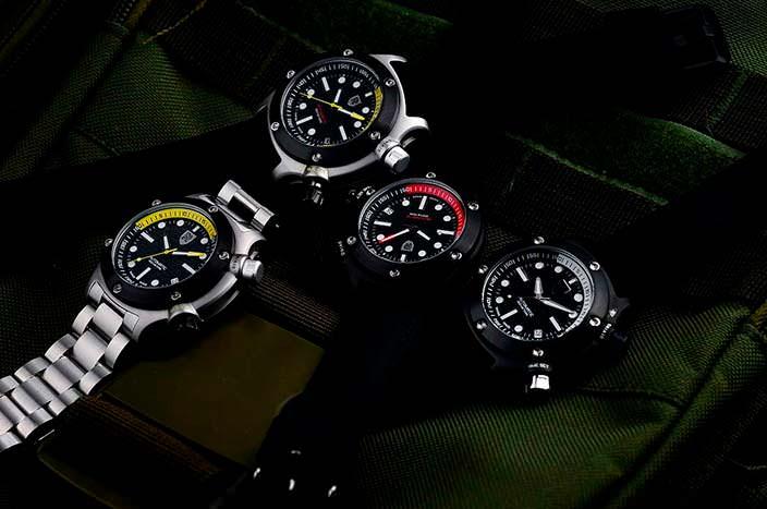 Rebel AquaFin: дайверские часы с сапфировым циферблатом
