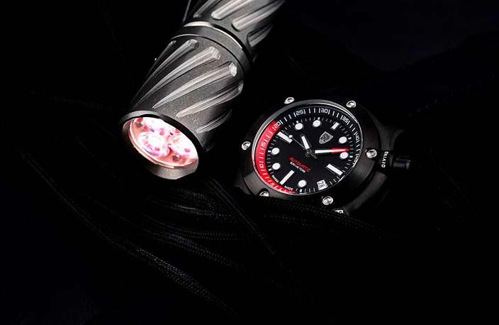 Rebel AquaFin: дайверские часы из нержавеющей стали 316L
