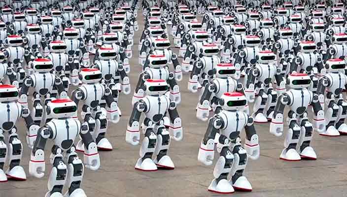 1 069 роботов натанцевали новый рекорд Гиннесса | видео