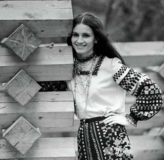 Фото | София Ротару в 20 лет. 1967 год