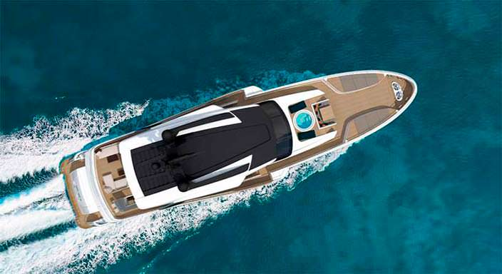 Спортивная яхта Wider Yachts 130 на 12 гостей