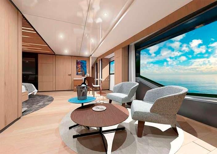 Современный дизайн яхты Wider Yachts 130