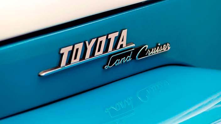 Классическая Toyota Land Cruiser FJ45LV