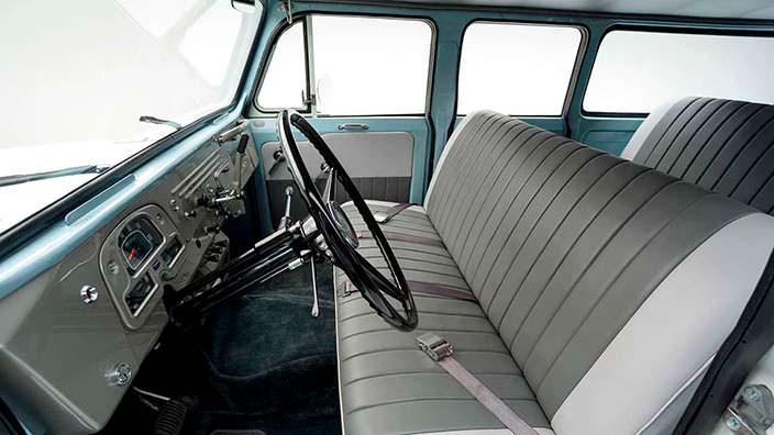 Оригинальный салон Toyota Land Cruiser FJ45LV 1967 года