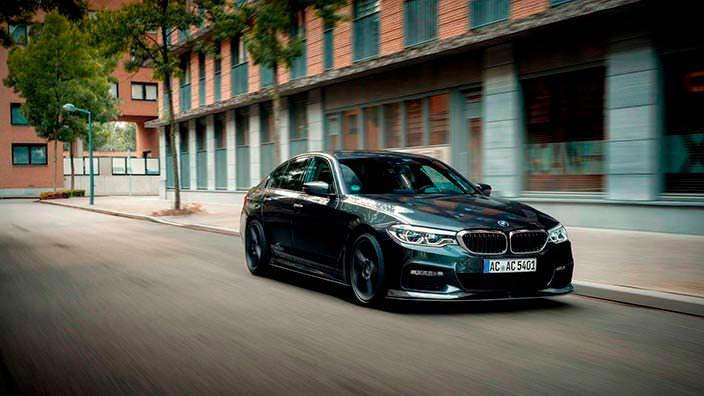 Новая BMW 5-Series 2018. Тюнинг от AC Schnitzer