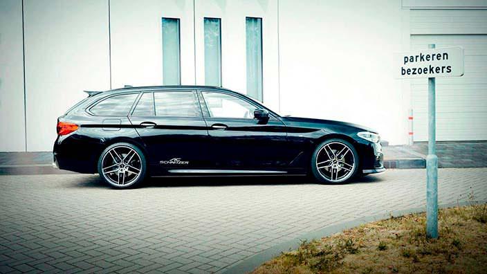 2018 BMW 5-Series G31. Тюнинг AC Schnitzer
