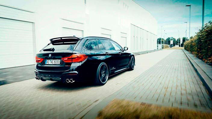Универсал BMW 5-Series G31. Тюнинг от AC Schnitzer