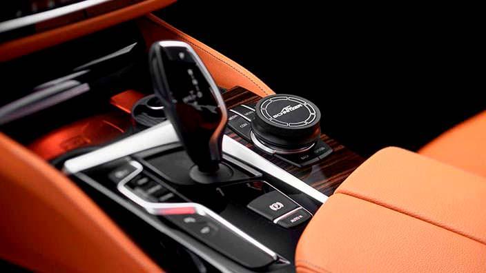 Кожаный салон BMW 5-Series 2018. Тюнинг от AC Schnitzer