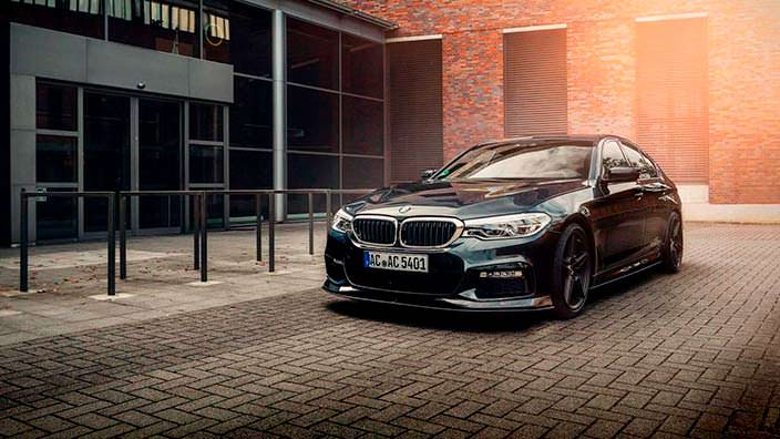 Седан BMW 5-Series 2018. Тюнинг от AC Schnitzer