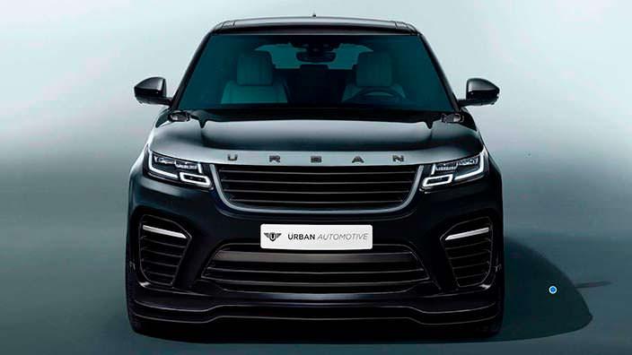 Кроссовер Range Rover Velar. Тюнинг от Urban Automotive