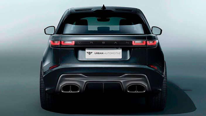 Агрессивный тюнинг Range Rover Velar от Urban Automotive