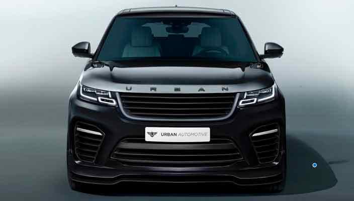 Тюнинг Range Rover Velar от Urban Automotive: почти Velar SVR