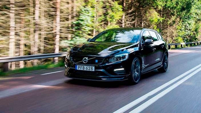 2018 Volvo V60. Тюнинг от Polestar