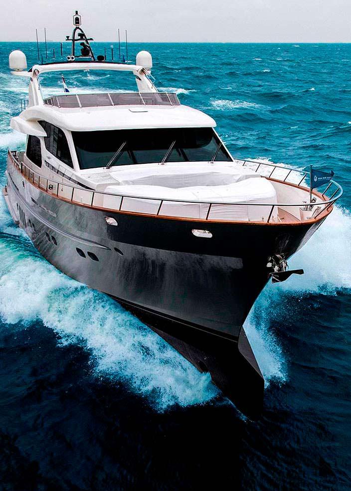 27-метровая яхта Anemeli от Van der Valk