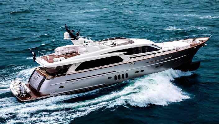 Верфь Van der Valk доставила яхту Anemeli покупателю | фото