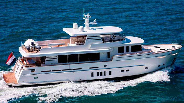Исследовательская яхта Dutch Falcon от Van Der Valk