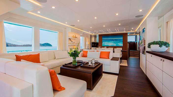 Салон яхты Dutch Falcon от Van Der Valk