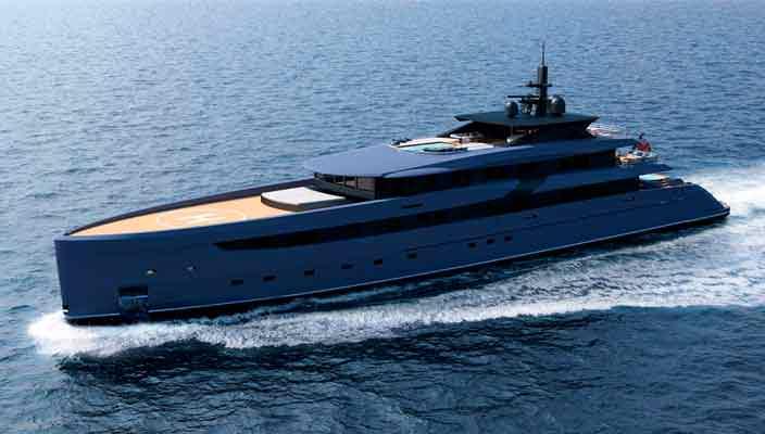 Дизайнер Марко Феррари показал концепт яхты F65 | фото