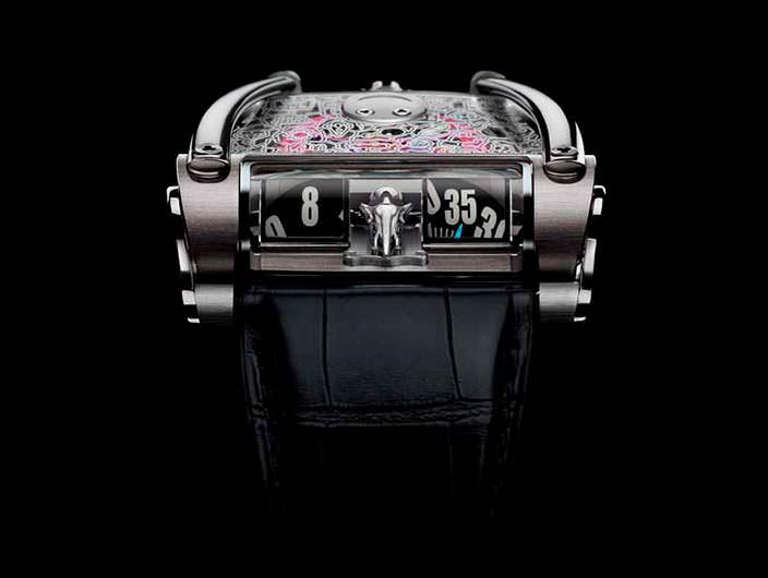 Уникальные швейцарские часы MB&F HM8 Only Watch