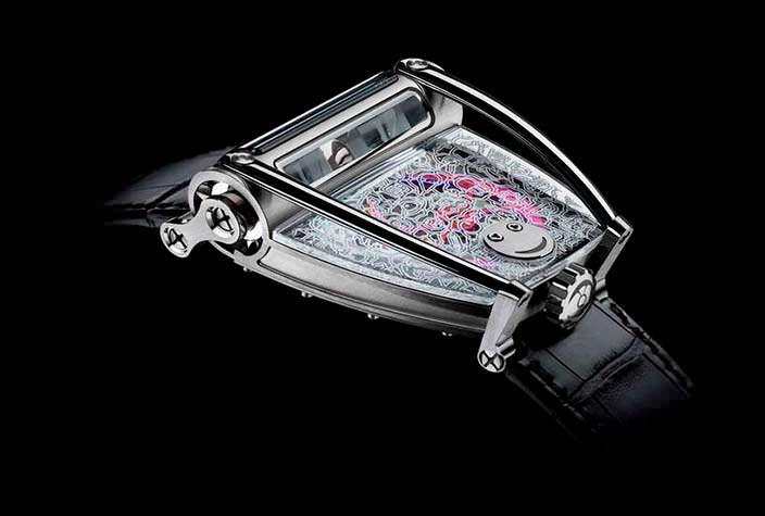 Швейцарские часы MB&F HM8 Only Watch для аукциона