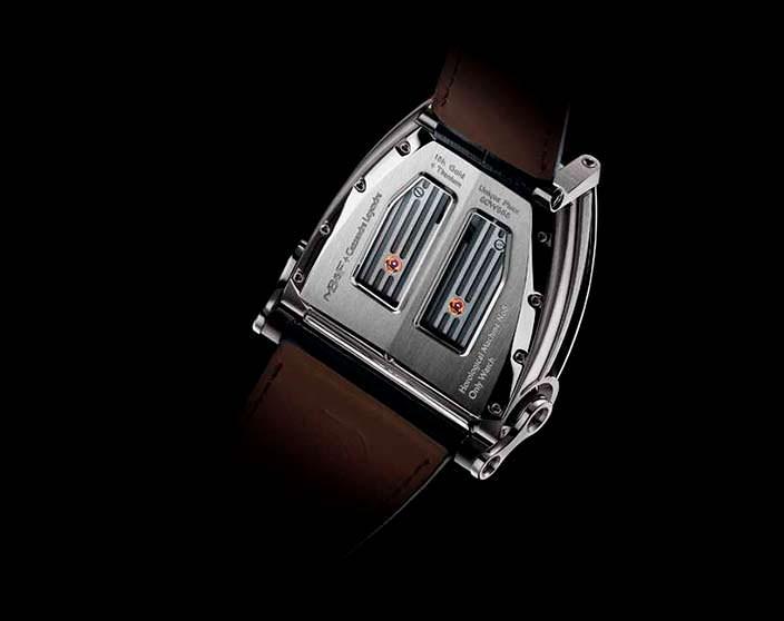 Швейцарские часы MB&F HM8 Only Watch: сапфир и титан