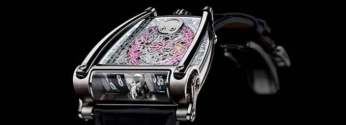 Швейцарские часы MB&F HM8 Only Watch: дизайн Кассандры Леджендр