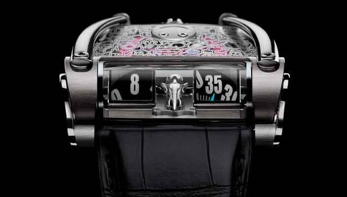 В MB&F создали часы HM8 для благотворительного аукциона