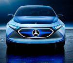 Электрический хэтчбек Mercedes EQ A прибыл во Франкфурт | фото