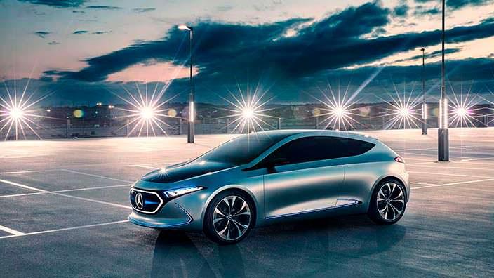 Электрический хэтчбек Mercedes EQ A Concept