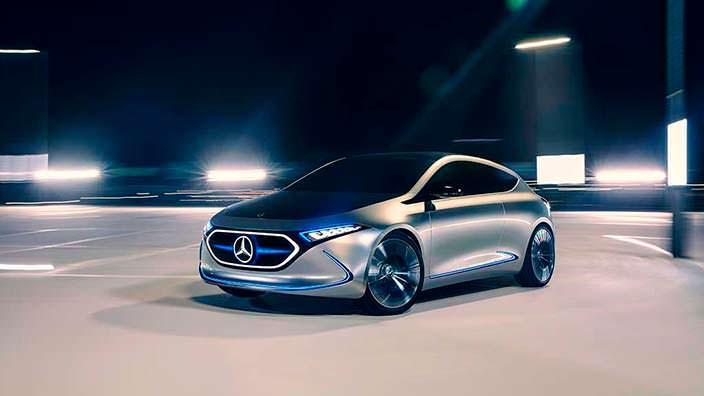 Компактный электрокар Mercedes EQ A Concept