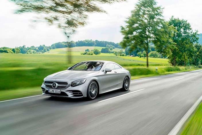 Новый Mercedes S-Class Coupe 2018