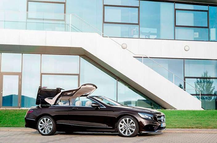 Mercedes S-Class Cabriolet: складная мягкая крыша