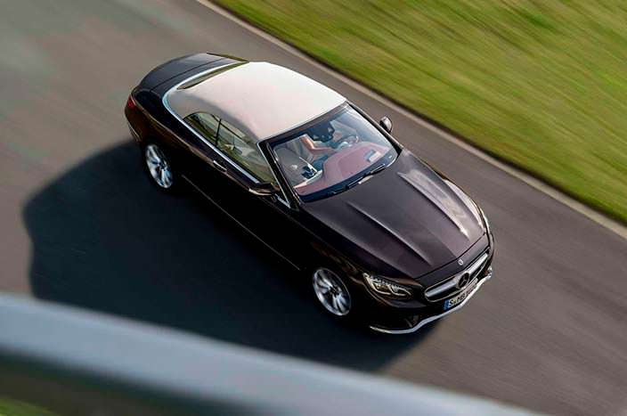 Новый Mercedes-Benz S-Class Cabriolet