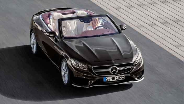 Купе и кабриолет Mercedes S-Class обновились   фото