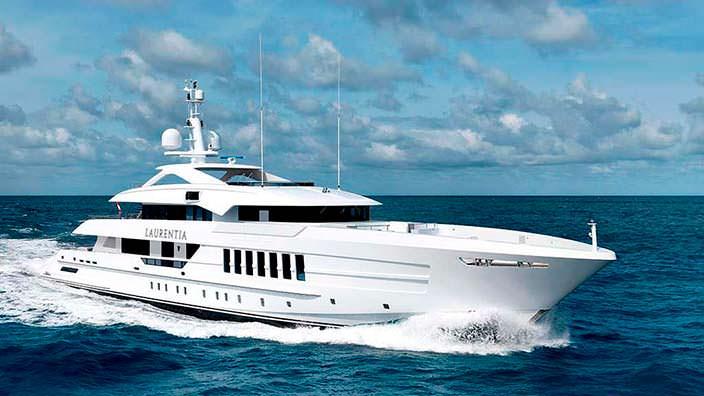 55-метровая яхта Laurentia от верфи Heesen Yachts