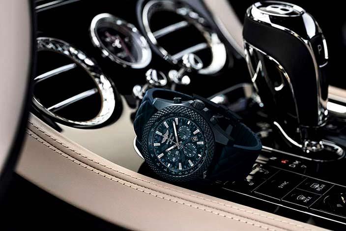 Эксклюзивные часы Bentley GT Dark Sapphire Edition