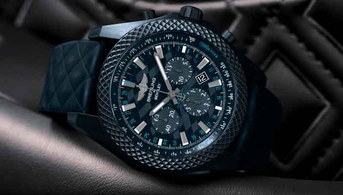 Breitling посвятил часы новому Bentley Continental GT