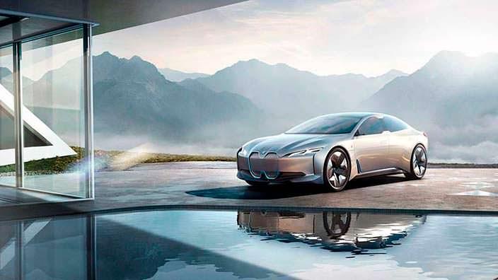 2017 BMW i Vision Dynamics в кузове Gran Coupe