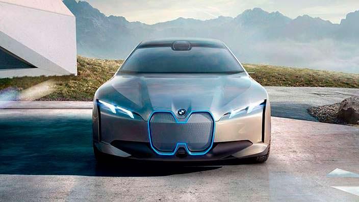 Новый электрокар BMW i Vision Dynamics