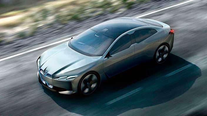 BMW i Vision Dynamics. Автосалон IAA-2017