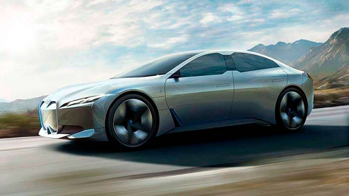 BMW i Vision Dynamics. Франкфуртский автосалон 2017 года