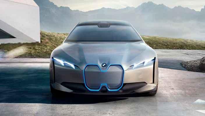 Новый электрокар BMW i Vision Dynamics на IAA-2017 | фото